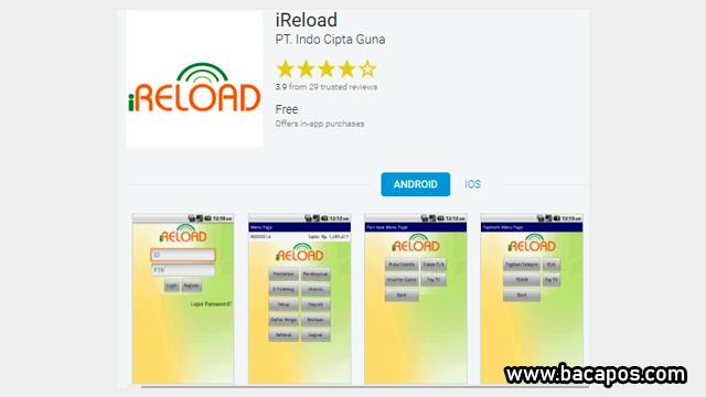Aplikasi iReload