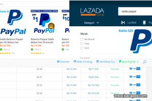 Bayar Lazada Pakai Paypal