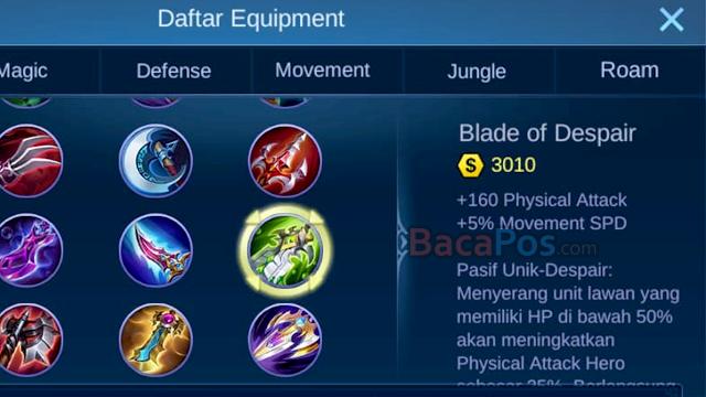 Blade Of Despair emblem hanzo tersakit jess no limit