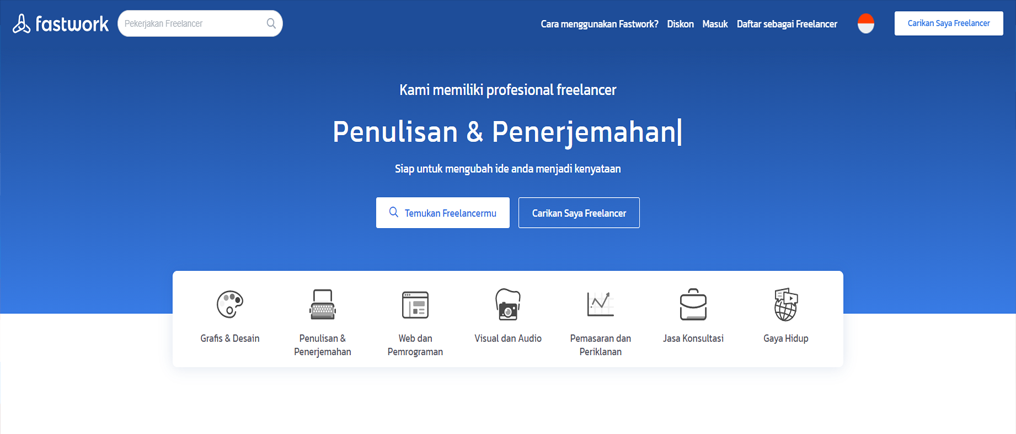 Freelance fastwork situs freelance terkenal di indonesia