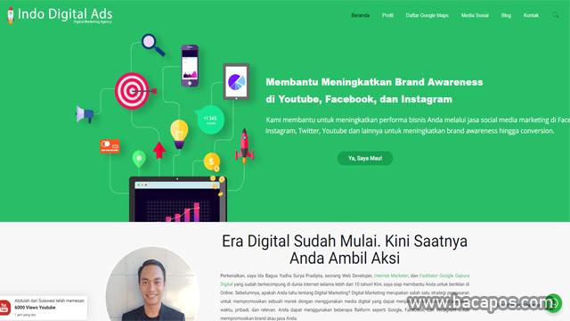 Indo Digital Ads penambah jam tayang