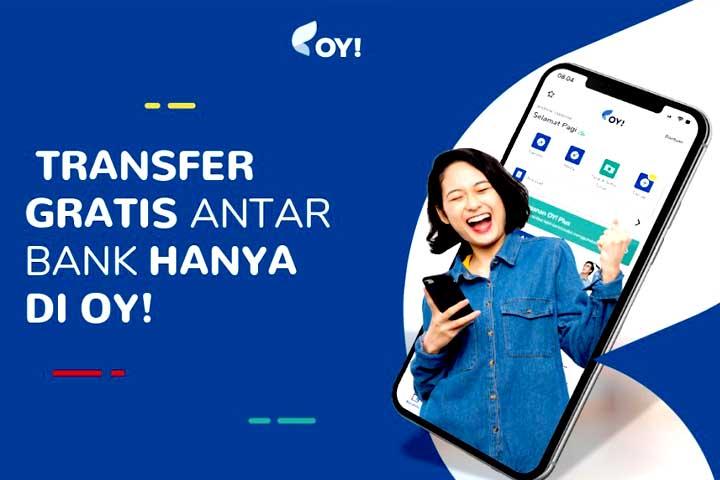 OY! transfer antar bank gratis