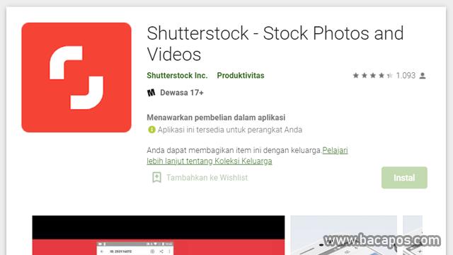 Shutterstock aplikasi jual foto dapat uang