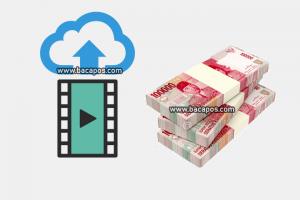 Upload video dapat uang dan dapat dollar, situs upload video dibayar biar dapat uang selain youtube