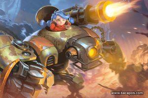 Build jawhead fighter tersakit, terkuat dan terbaru di mobile legend (ML)