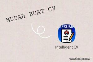 Cara Membuat CV (curriculum vitae) di hp menggunakan aplikasi secara online gratis