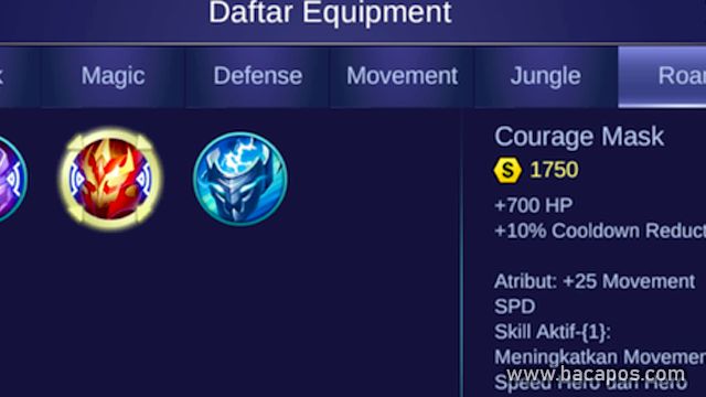 Courage Mask build jawhead fighter tersakit