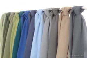 Jenis kain atau bahan hijab yang paling nyaman digunakan sehari-hari dan mudah dibentuk