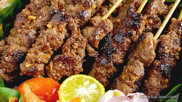 Sate Maranggi makanan khas jawa barat