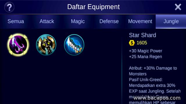 Star Shard (Jungle) Build Harley