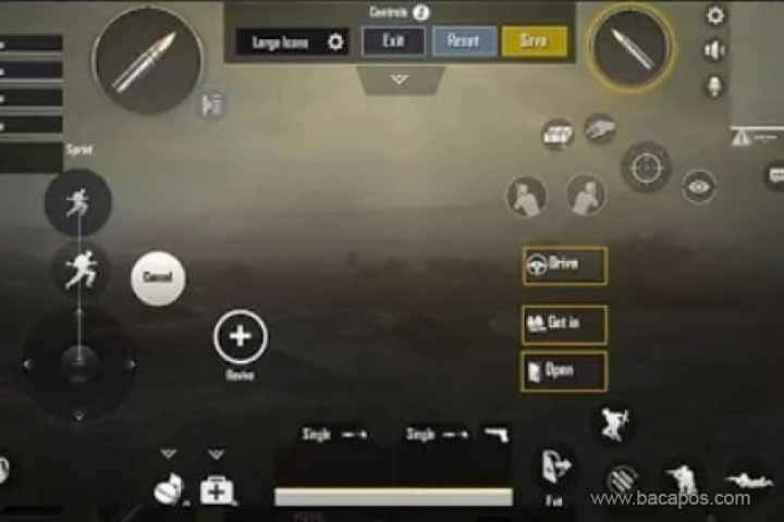 Cara setting control PUBG Mobile di PC Emulator dengan benar
