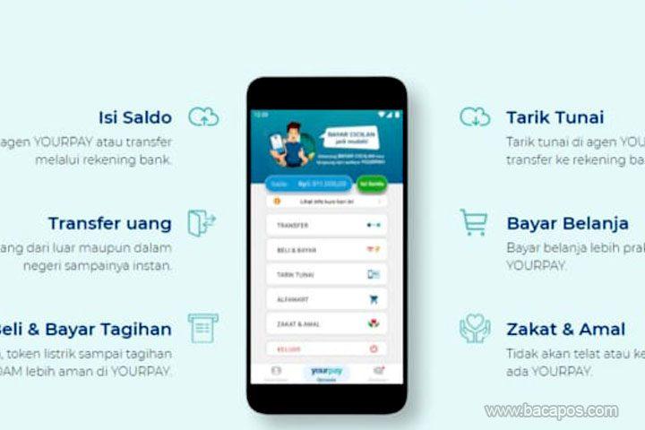 Review aplikasi YourPay Kelebihan yang cocok untuk TKI transfer atau transaksi uang di luar negeri