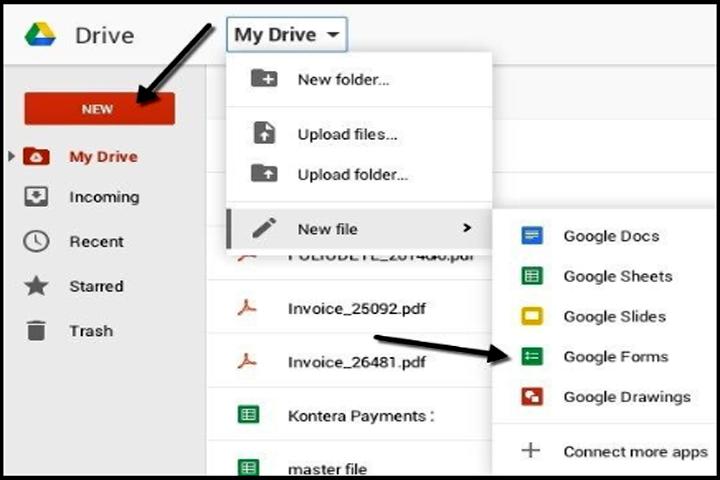 cara membuat google form di hp android dan install